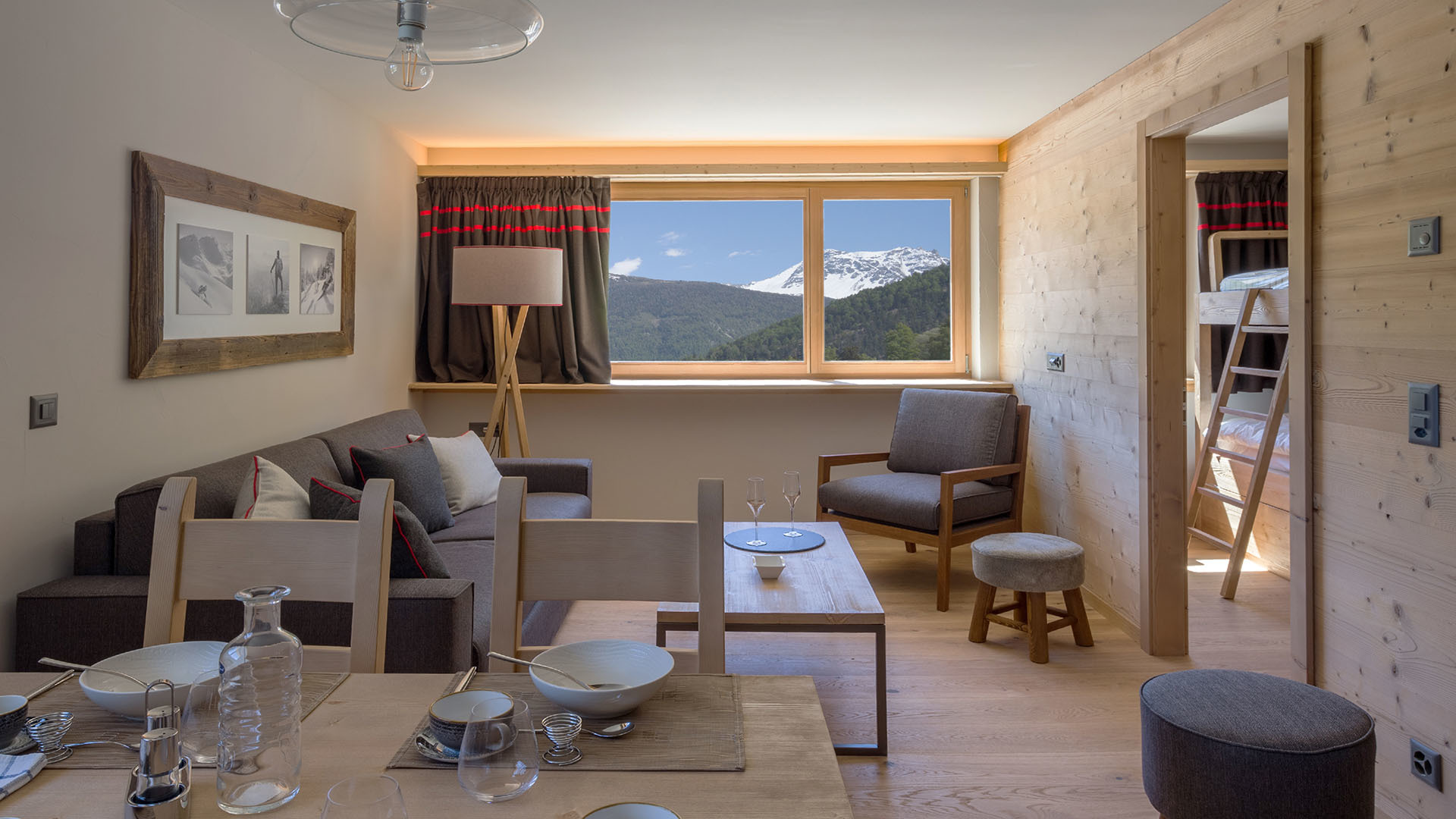 SWISSPEAK RESORT – AMENAGEMENT INTERIEUR